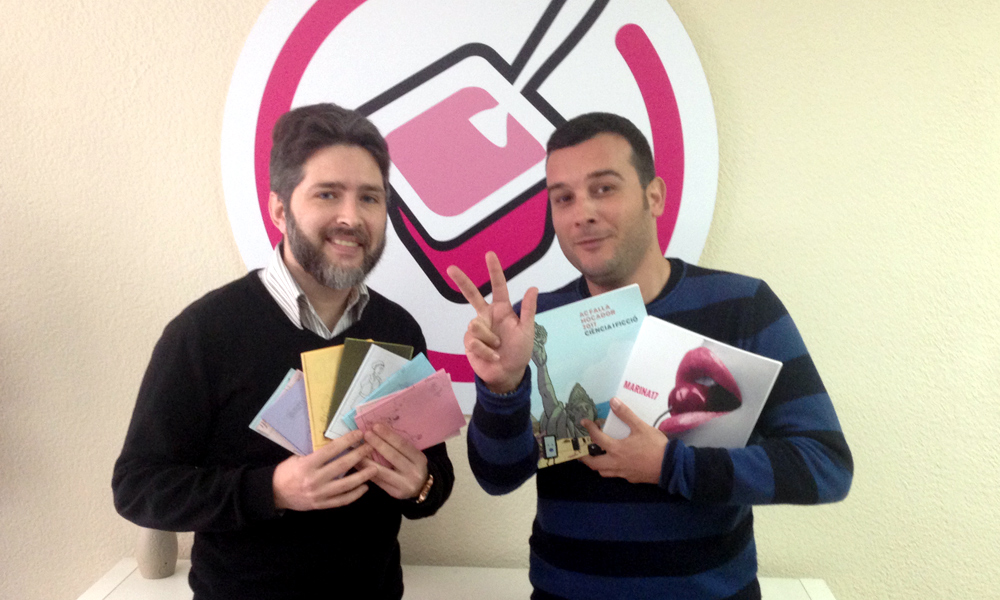 triplete de premios de llibret del ayuntamiento de sagunto